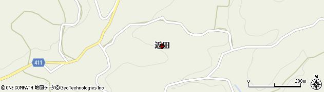 広島県神石高原町(神石郡)近田周辺の地図