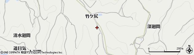 愛知県南知多町(知多郡)内海(竹ケ尻)周辺の地図