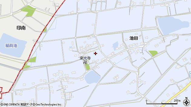 〒651-2333 兵庫県神戸市西区神出町池田の地図