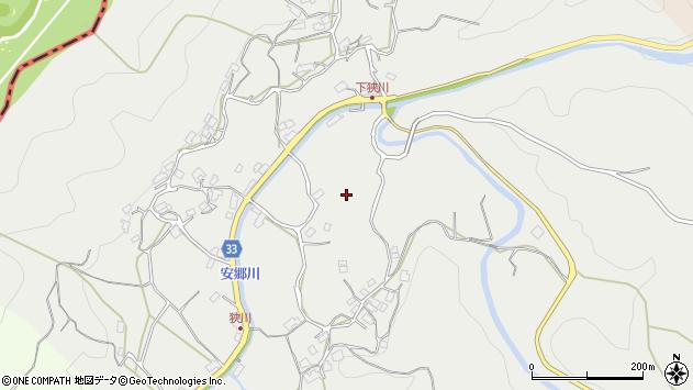 〒630-1102 奈良県奈良市下狭川町の地図