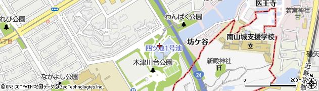 京都府木津川市吐師(奥医王寺)周辺の地図