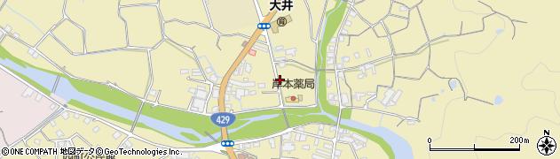 岡山県岡山市北区大井周辺の地図