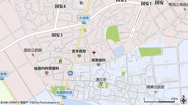 〒675-1114 兵庫県加古郡稲美町国安の地図