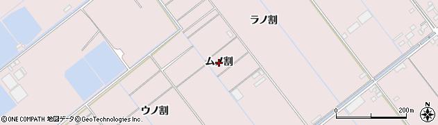 愛知県豊橋市神野新田町(ムノ割)周辺の地図