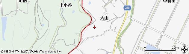 愛知県南知多町(知多郡)豊丘(大山)周辺の地図