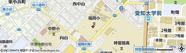 愛知県豊橋市橋良町周辺の地図