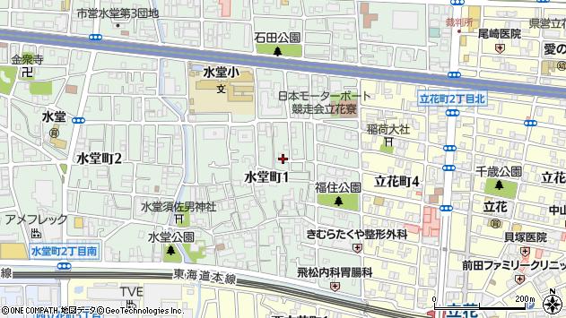 〒661-0026 兵庫県尼崎市水堂町の地図