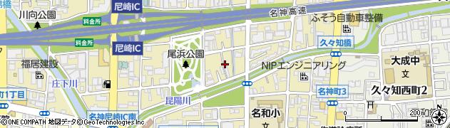 ウイング物流周辺の地図