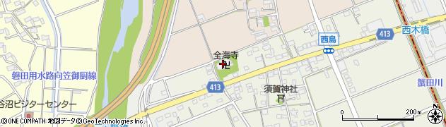 全海寺周辺の地図