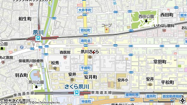 〒662-0047 兵庫県西宮市寿町の地図