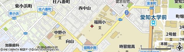愛知県豊橋市橋良町(平野)周辺の地図
