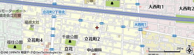 大行院周辺の地図
