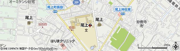 兵庫県加古川市尾上町周辺の地図