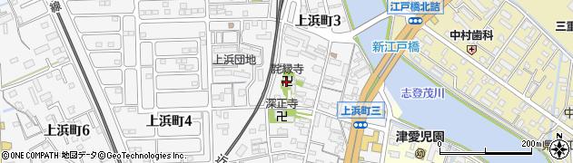 託縁寺周辺の地図