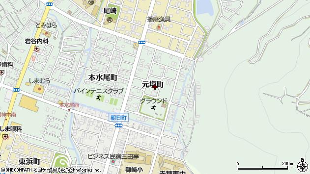 〒678-0213 兵庫県赤穂市元塩町の地図