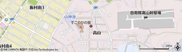 愛知県豊橋市飯村町周辺の地図