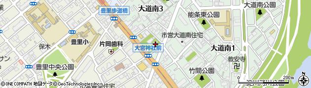 大宮周辺の地図