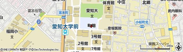 愛知県豊橋市町畑町(町畑)周辺の地図