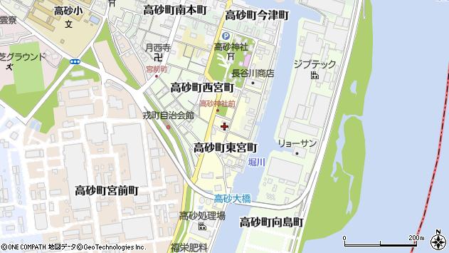 〒676-0043 兵庫県高砂市高砂町東宮町の地図
