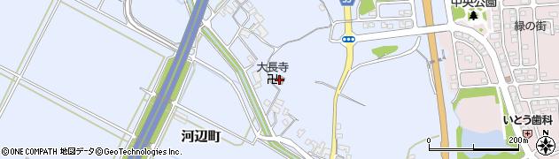 大長寺周辺の地図