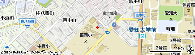 愛知県豊橋市橋良町(東中山)周辺の地図