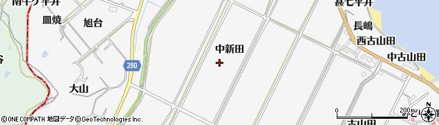 愛知県南知多町(知多郡)豊丘(中新田)周辺の地図