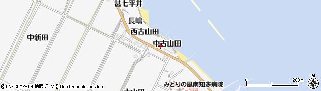 愛知県南知多町(知多郡)豊丘(中古山田)周辺の地図