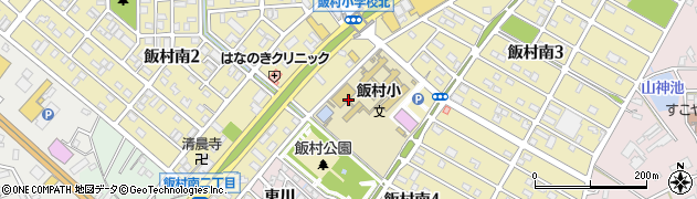 愛知県豊橋市飯村南周辺の地図
