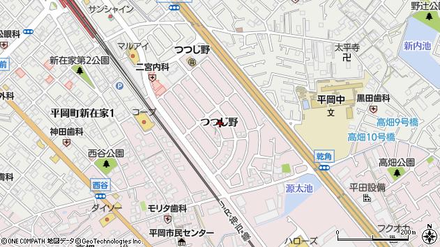 〒675-0105 兵庫県加古川市平岡町つつじ野の地図