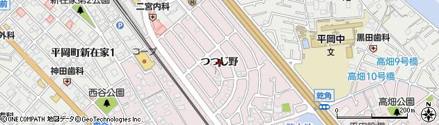兵庫県加古川市平岡町(つつじ野)周辺の地図