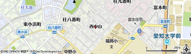 愛知県豊橋市橋良町(西中山)周辺の地図