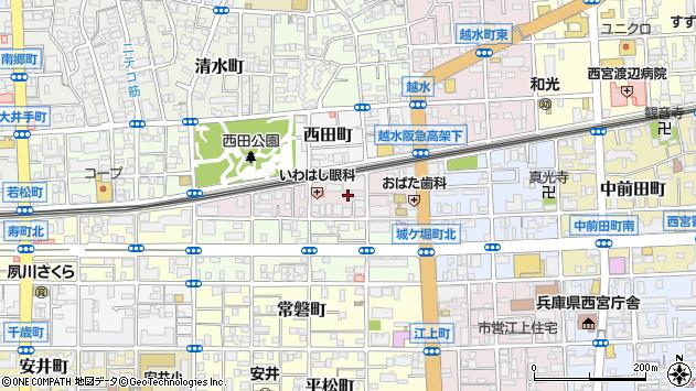 〒662-0041 兵庫県西宮市末広町の地図