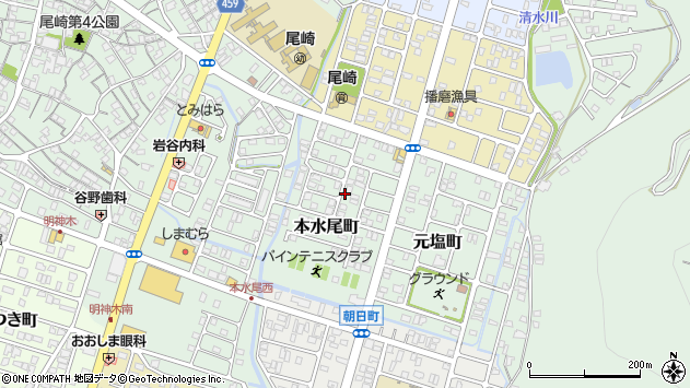 〒678-0217 兵庫県赤穂市本水尾町の地図