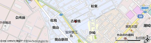 愛知県豊橋市牟呂町(古幡焼)周辺の地図
