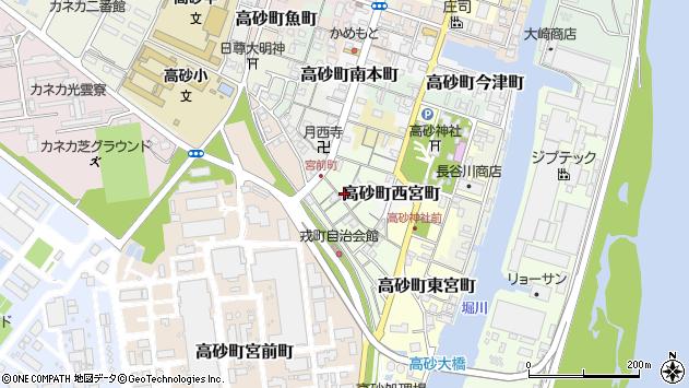 〒676-0045 兵庫県高砂市高砂町戎町の地図