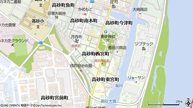 〒676-0046 兵庫県高砂市高砂町西宮町の地図