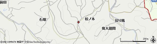 愛知県南知多町(知多郡)内海(松ノ木)周辺の地図