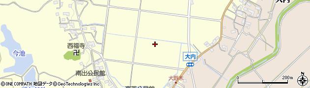 三重県伊賀市大野木周辺の地図