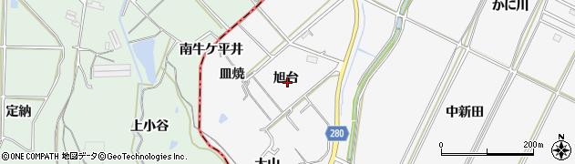 愛知県南知多町(知多郡)豊丘(旭台)周辺の地図