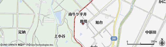 愛知県南知多町(知多郡)豊丘(皿焼)周辺の地図