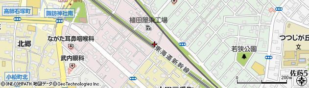 愛知県豊橋市牧野町(梅鉢)周辺の地図