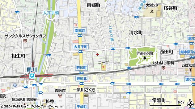 〒662-0035 兵庫県西宮市若松町の地図