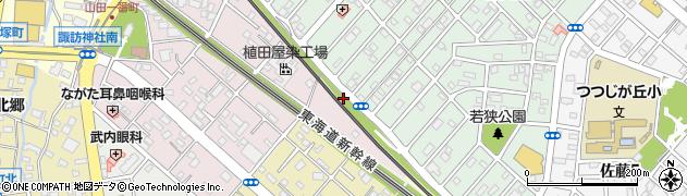 愛知県豊橋市牧野町(長畑)周辺の地図