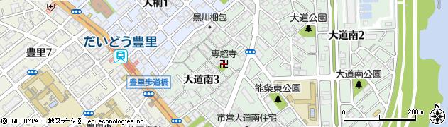 専超寺周辺の地図