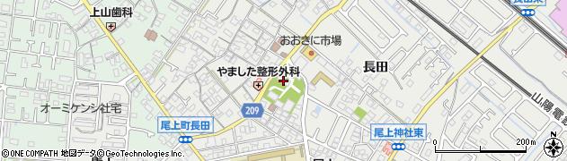尾上神社周辺の地図