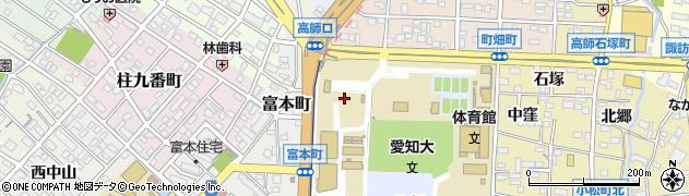 愛知県豊橋市北丘町周辺の地図