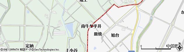 愛知県南知多町(知多郡)豊丘(南牛ケ平井)周辺の地図