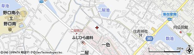 兵庫県加古川市野口町(二屋)周辺の地図