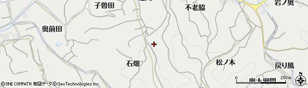 愛知県南知多町(知多郡)内海(廻間)周辺の地図