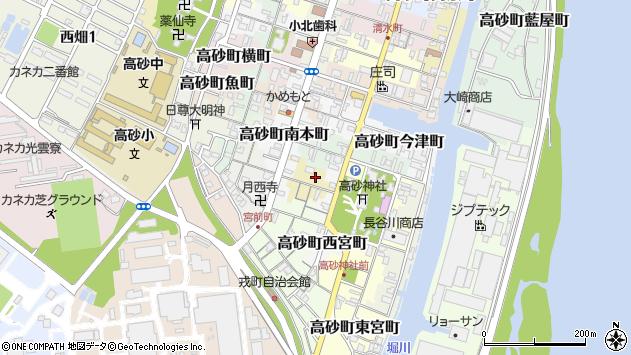 〒676-0048 兵庫県高砂市高砂町猟師町の地図